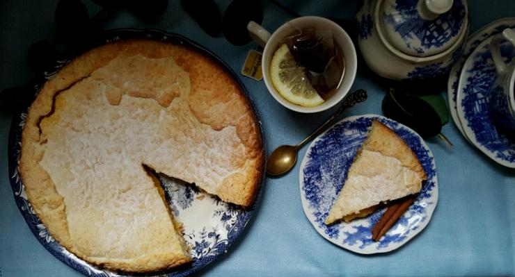 torta de lemon curd